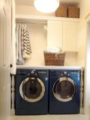 55 Best Small Laundry Room Photo Storage Ideas (41)