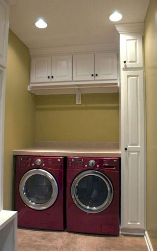 55 Best Small Laundry Room Photo Storage Ideas (54)