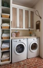 55 Best Small Laundry Room Photo Storage Ideas (8)