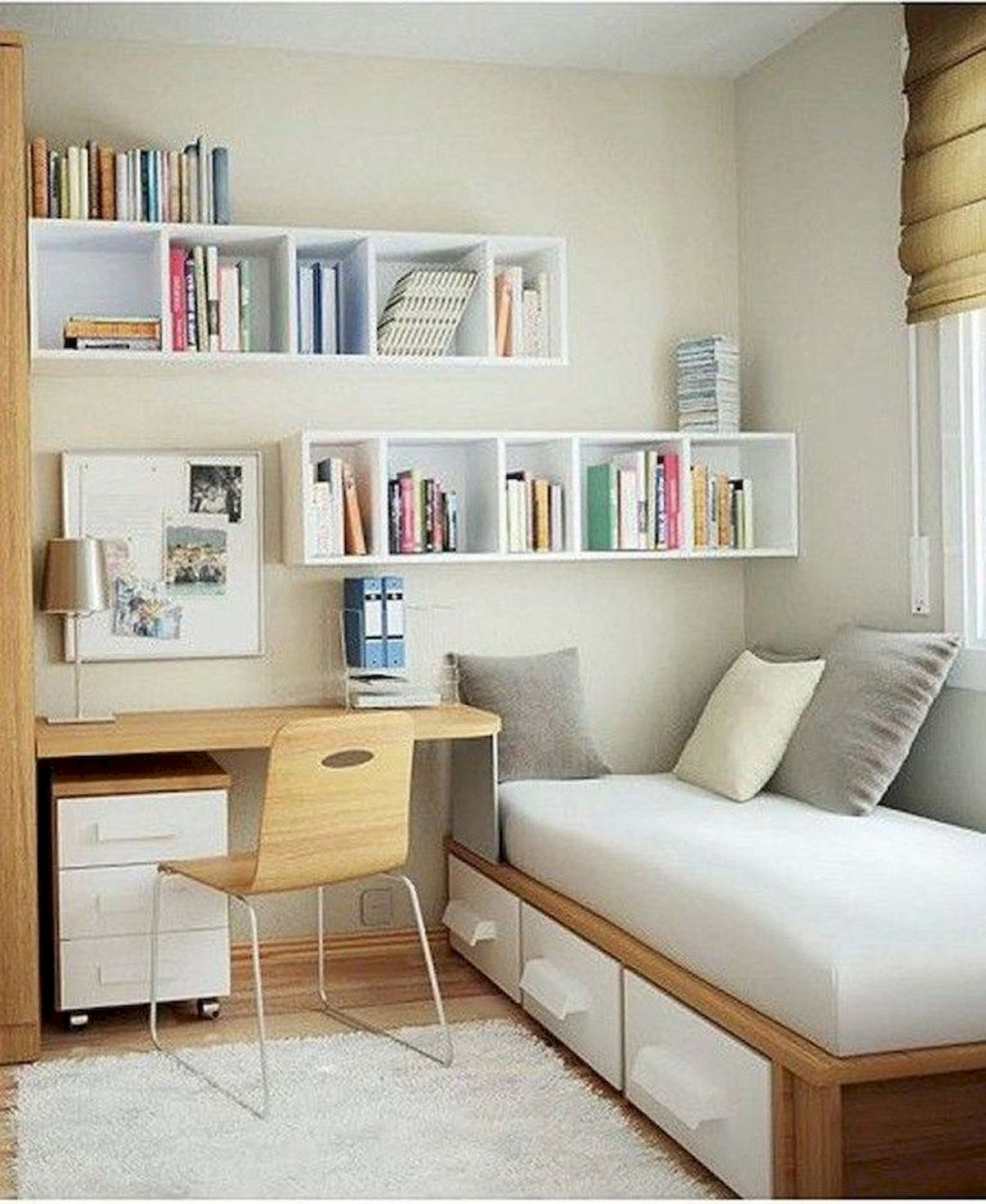 Awesome Small Bedroom Decorating Ideas On A Budget (28)