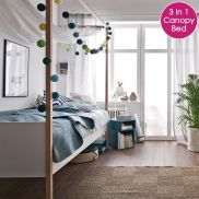 On Budget Single Bedroom Designs with Ultra Comfort and Lively Vibes Part 30