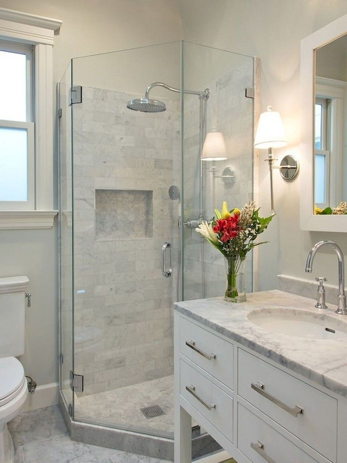 Stunning Small Bathroom Ideas On A Budget (30)