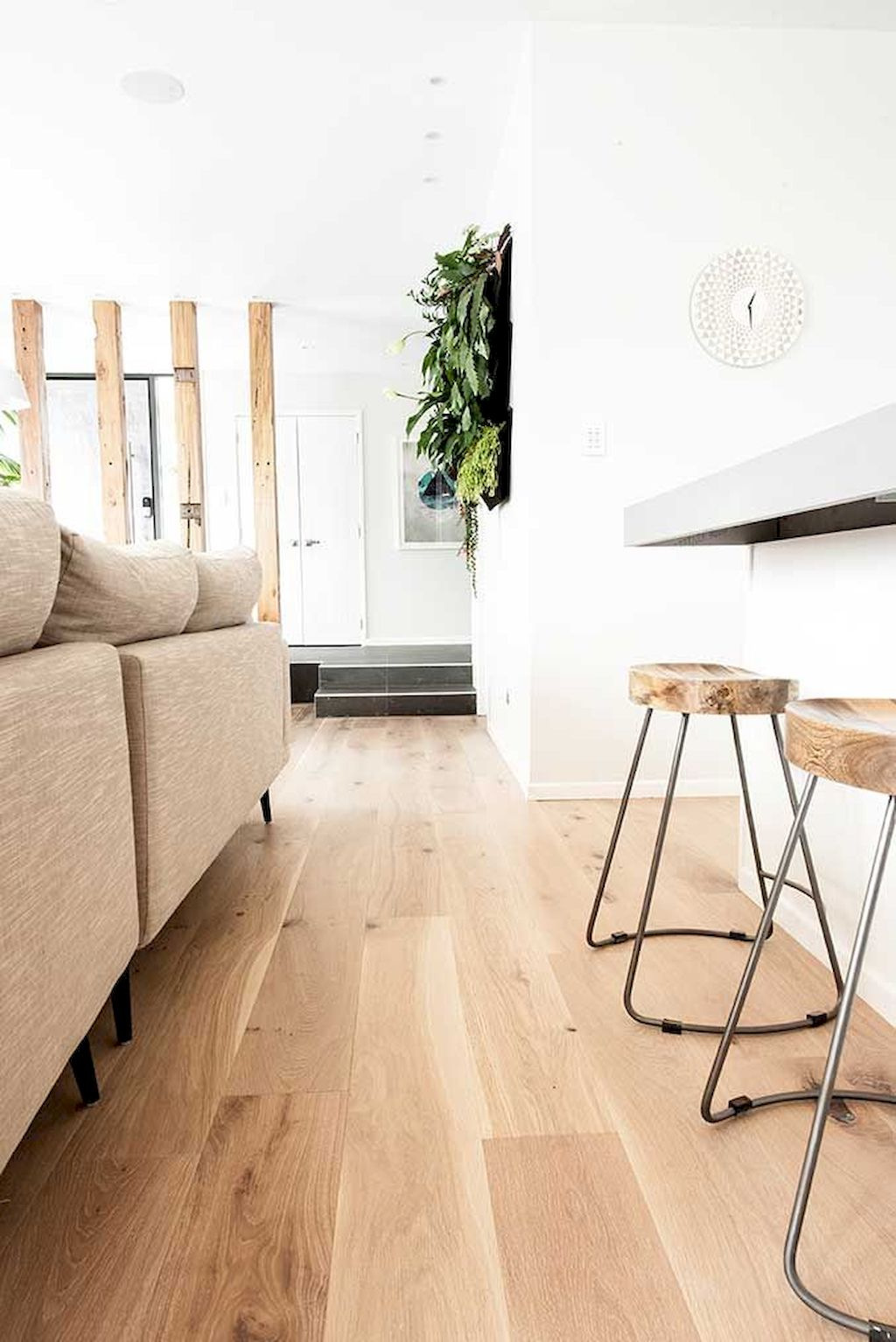 Top Ideas of Bright Tone Wooden Floor for Maximum Interior Look Part 34