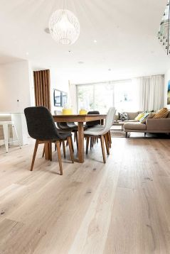 Top Ideas of Bright Tone Wooden Floor for Maximum Interior Look Part 39