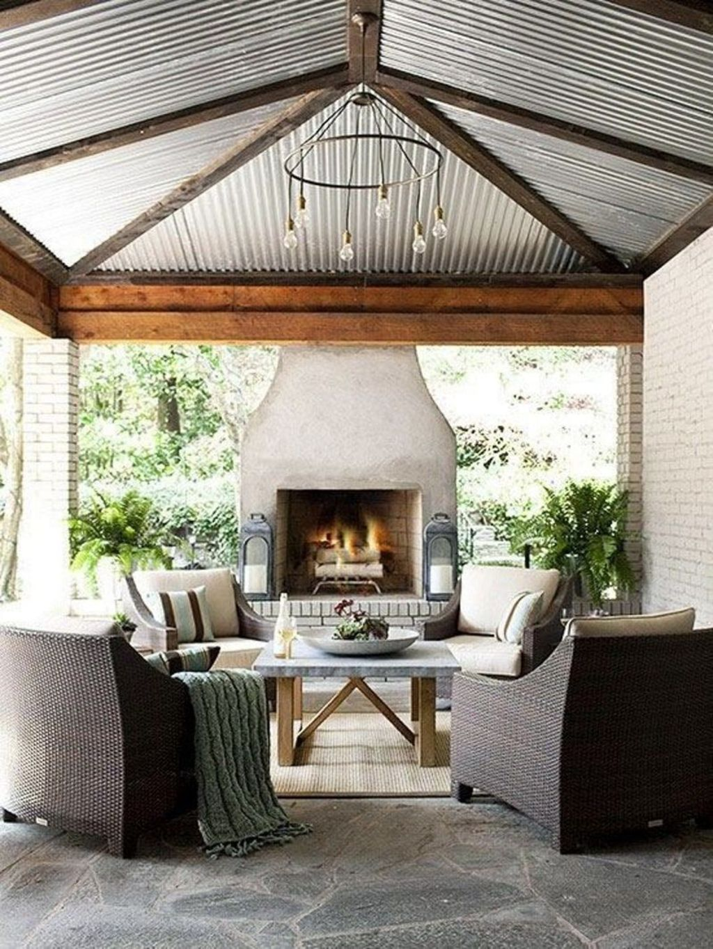 Back porch design ideas that perfect for every home as special space to make it anything you want Part (12)