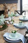 Charming Easter centerpieces and springy table decor ideas to get your Easter party hopping Part 13