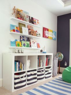 Clever DIY storage and organization ideas are effective for kids playing rooms Part 13