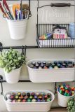 Clever DIY storage and organization ideas are effective for kids playing rooms Part 17