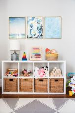 Clever DIY storage and organization ideas are effective for kids playing rooms Part 18