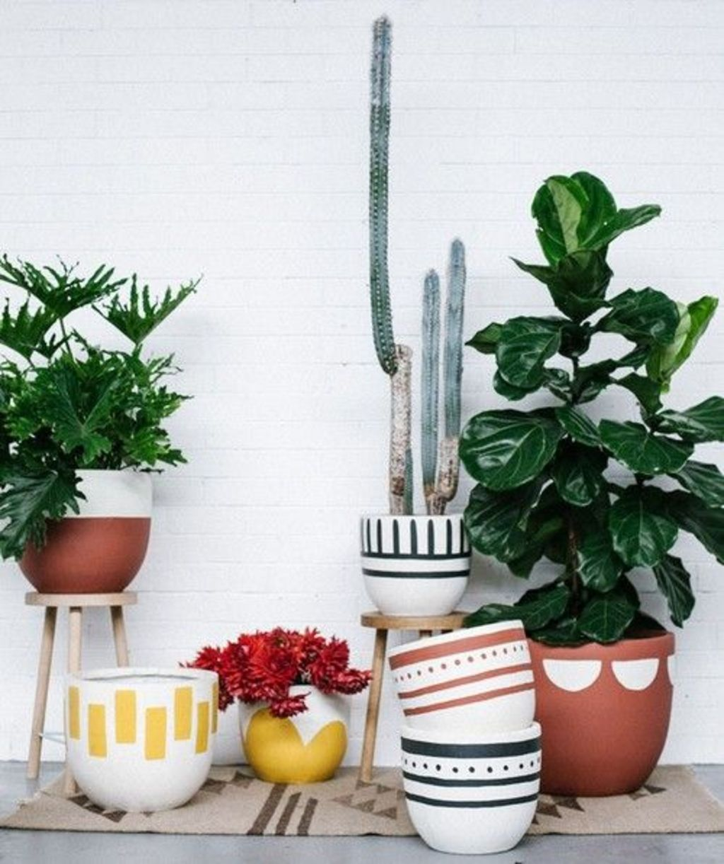 Creative DIY Planter designs out of scrap materials for inspiration Part 25