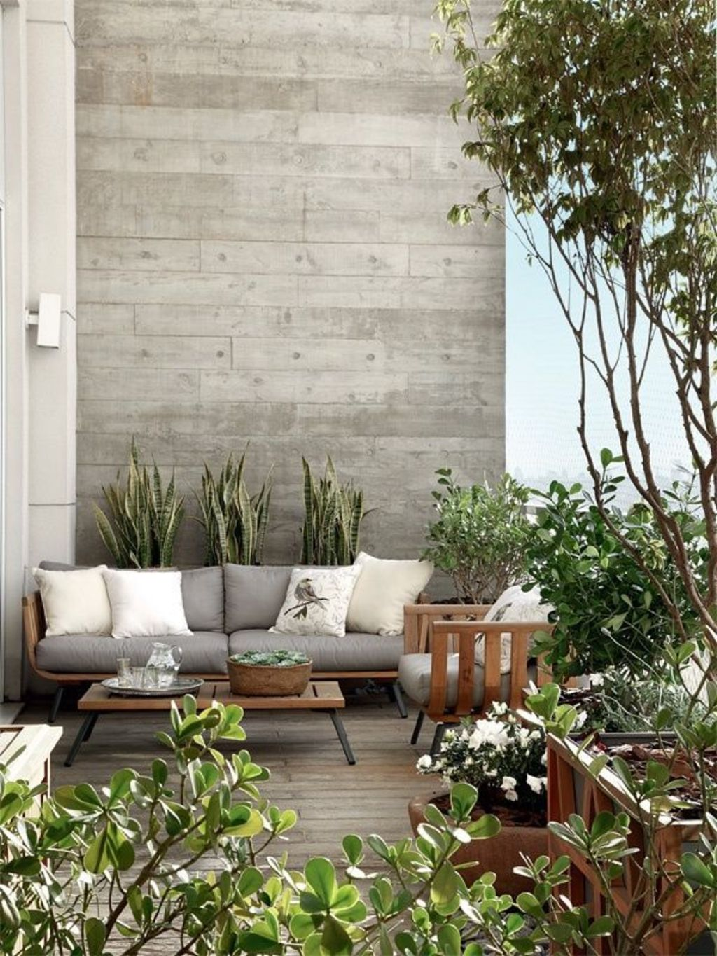 Creative adjustments that will enhance the coziness of the outdoor living space Part 33