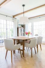 Dazzling transitional light fixtures to give more value of the dining room designs Part 6