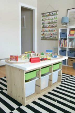 Effective kids room storage that will help you to get less mess and better rest Part 27