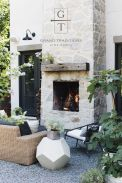 Ideas for your outdoor living areas fireplaces fire pits outdoor kitchens patios living areas and more Part 16