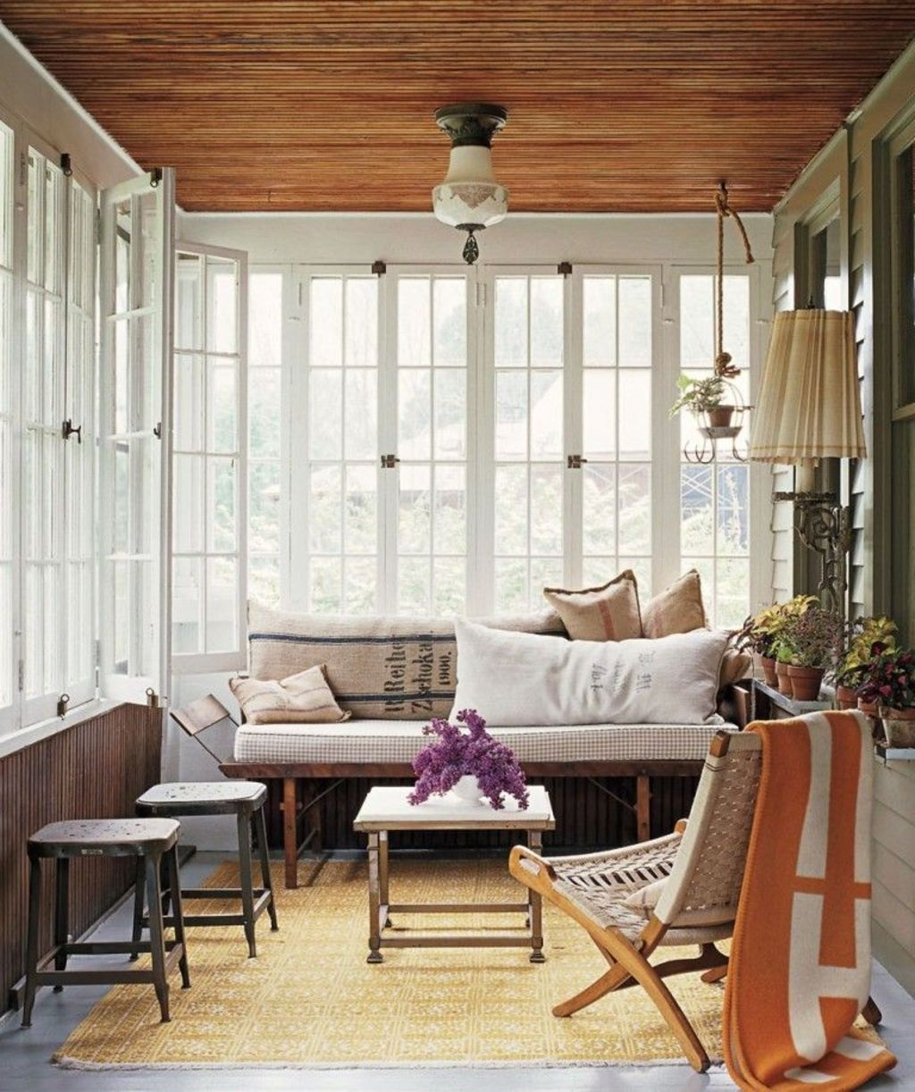 Most Popular Affordable Sunroom Design Ideas for 2019 Part 9