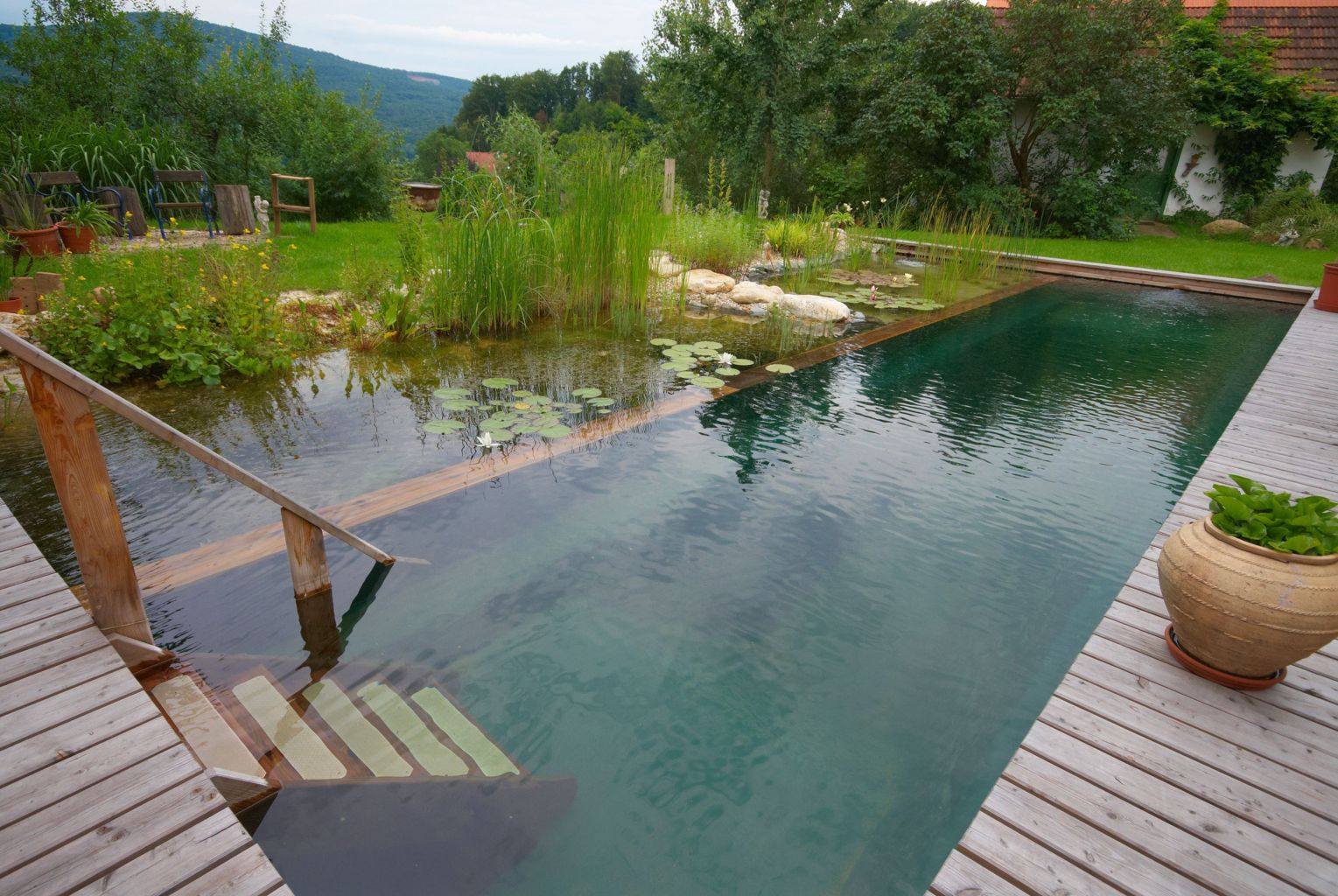 Natural swimming pool trend cleanwater pools that blend with your landscape Part 10