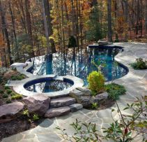 Natural swimming pool trend cleanwater pools that blend with your landscape Part 9