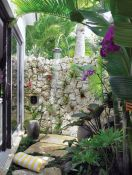 Outdoor showers and bath perfect for beach homes cabins and tropical climates Part 5