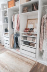 Small Space Closet Designs with Neat and Effective Organization Tricks (2)