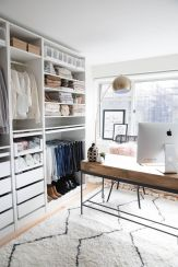 Small Space Closet Designs with Neat and Effective Organization Tricks (23)
