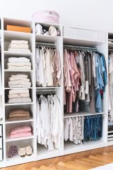 Small Space Closet Designs with Neat and Effective Organization Tricks (30)