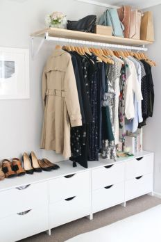 Small Space Closet Designs with Neat and Effective Organization Tricks (34)
