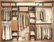 Small Space Closet Designs with Neat and Effective Organization Tricks (37)