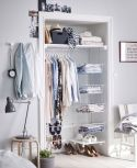 Small Space Closet Designs with Neat and Effective Organization Tricks (6)