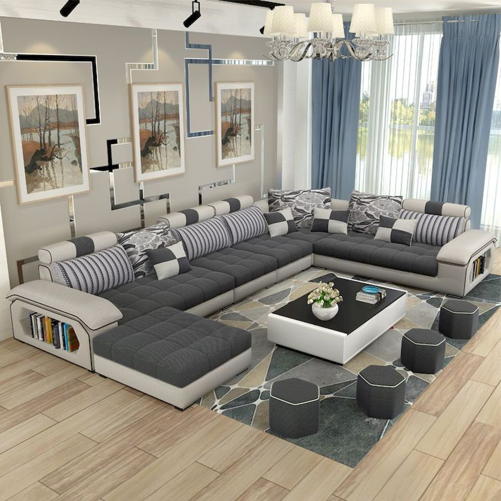 Soft Colored Living Room With Elegant Furniture and Accessories Part 18