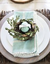 Spring and Easter tablesetting ideas and tablescapes brunch mothers day and springtime table setting ideas Part 12