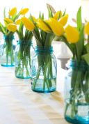 Spring and Easter tablesetting ideas and tablescapes brunch mothers day and springtime table setting ideas Part 13