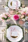Spring and Easter tablesetting ideas and tablescapes brunch mothers day and springtime table setting ideas Part 3