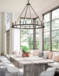 Traditional Chandelier Designs for Dining Rooms that Add Interiors Vintage Charms Part 28