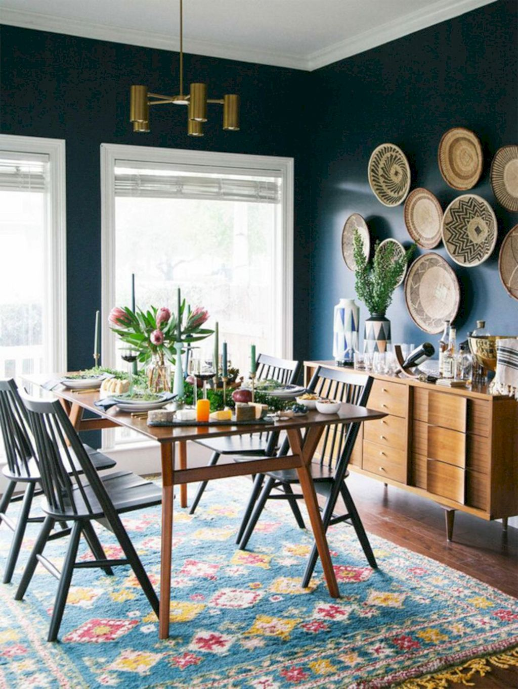 Beach home dining room style giving a fresh vibe among inviting recreational interior update Image 17