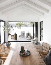 Beach home dining room style giving a fresh vibe among inviting recreational interior update Image 20