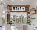 Coastal cottage kitchen style with rustic touching giving a perfect beach house vibes for interior retreat Image 21