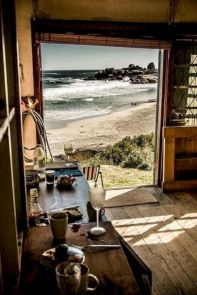 Coastal cottage kitchen style with rustic touching giving a perfect beach house vibes for interior retreat Image 27
