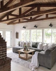 Coastal cottage living area with pure bright schemes outlooking vast sea view giving a complete beach style home Image 23