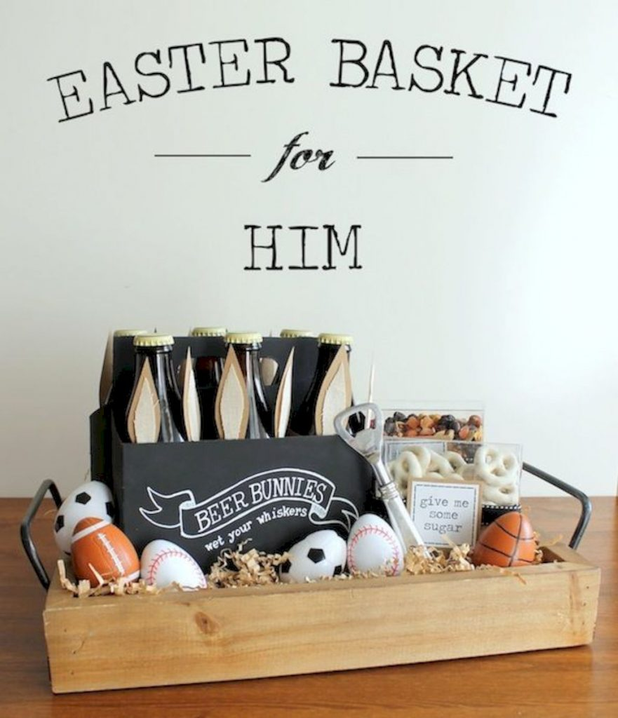 DIY Easter basket ideas made from affordable and recycled materials very charming as Spring celebration accessories Image 21