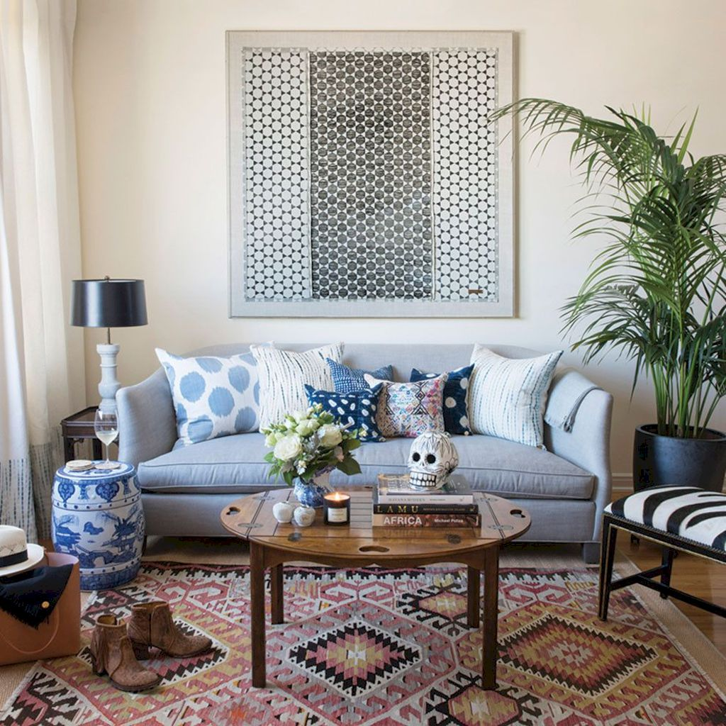 Easy interior updates with artistic textile decorations giving freestyle home style that rich of diverse and eclectic accents Image 28