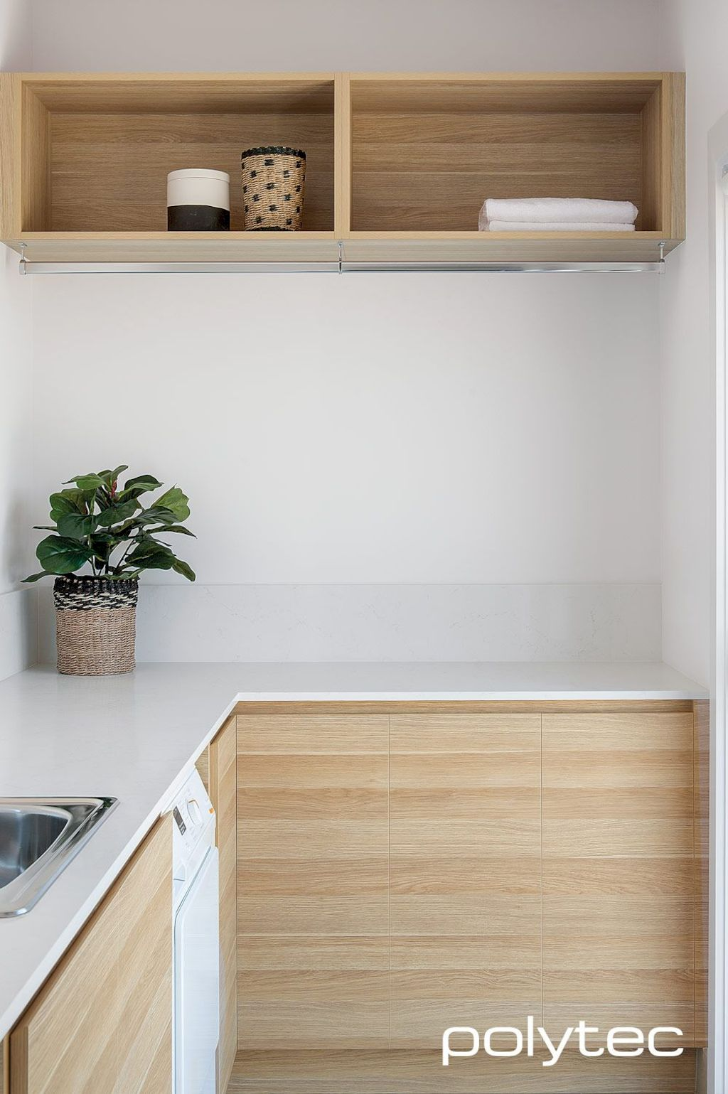 Easy tricks to make a Scandinavian style laundry room which will give a perfect refreshment in simple and sleek designs Image 1
