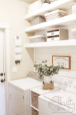 Easy tricks to make a Scandinavian style laundry room which will give a perfect refreshment in simple and sleek designs Image 14