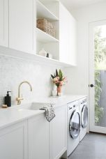 Easy tricks to make a Scandinavian style laundry room which will give a perfect refreshment in simple and sleek designs Image 19