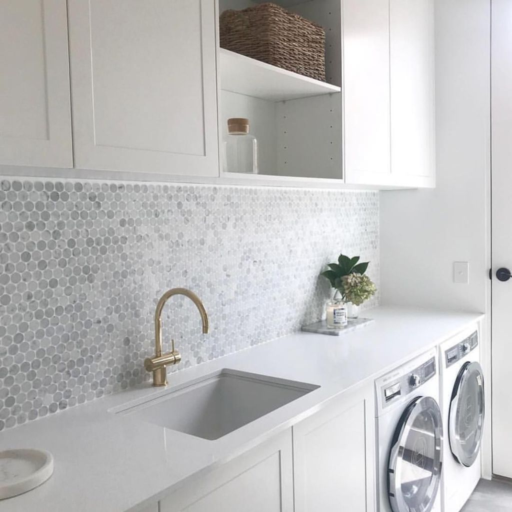 Easy tricks to make a Scandinavian style laundry room which will give a perfect refreshment in simple and sleek designs Image 6