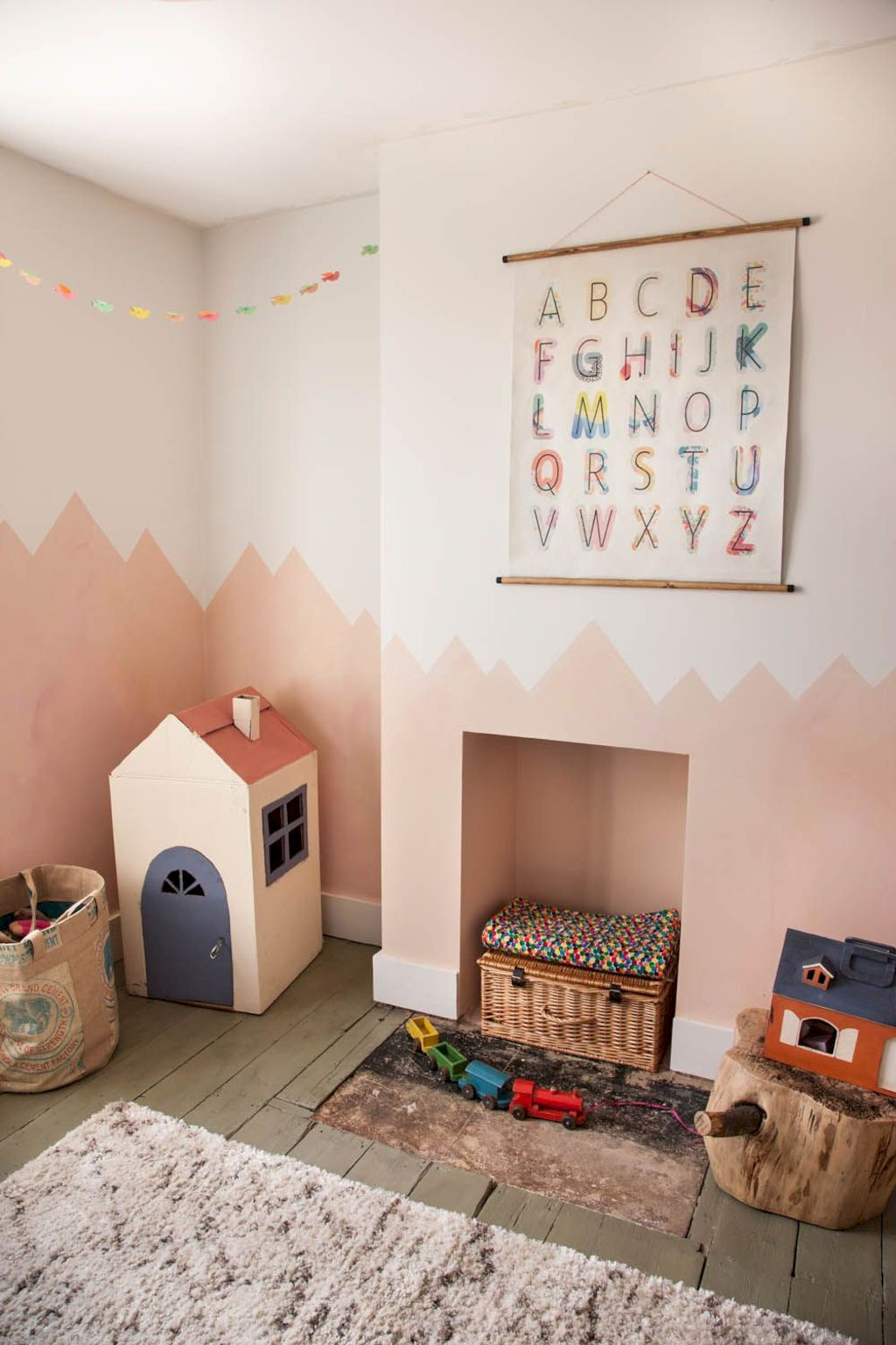 Fun and stylish play spaces for children looking best with modern and simple concepts that fit in any small space Image 21