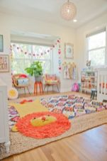 Low budget playrooms for small space showing off inspiring decoration and accessories to provide kiddos special spaces for more kids time Image 31