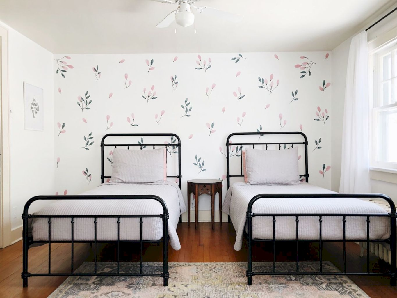 Refreshing sticker art wall decal giving floral accessories refreshing kids and nursery rooms wall design ideas Image 31