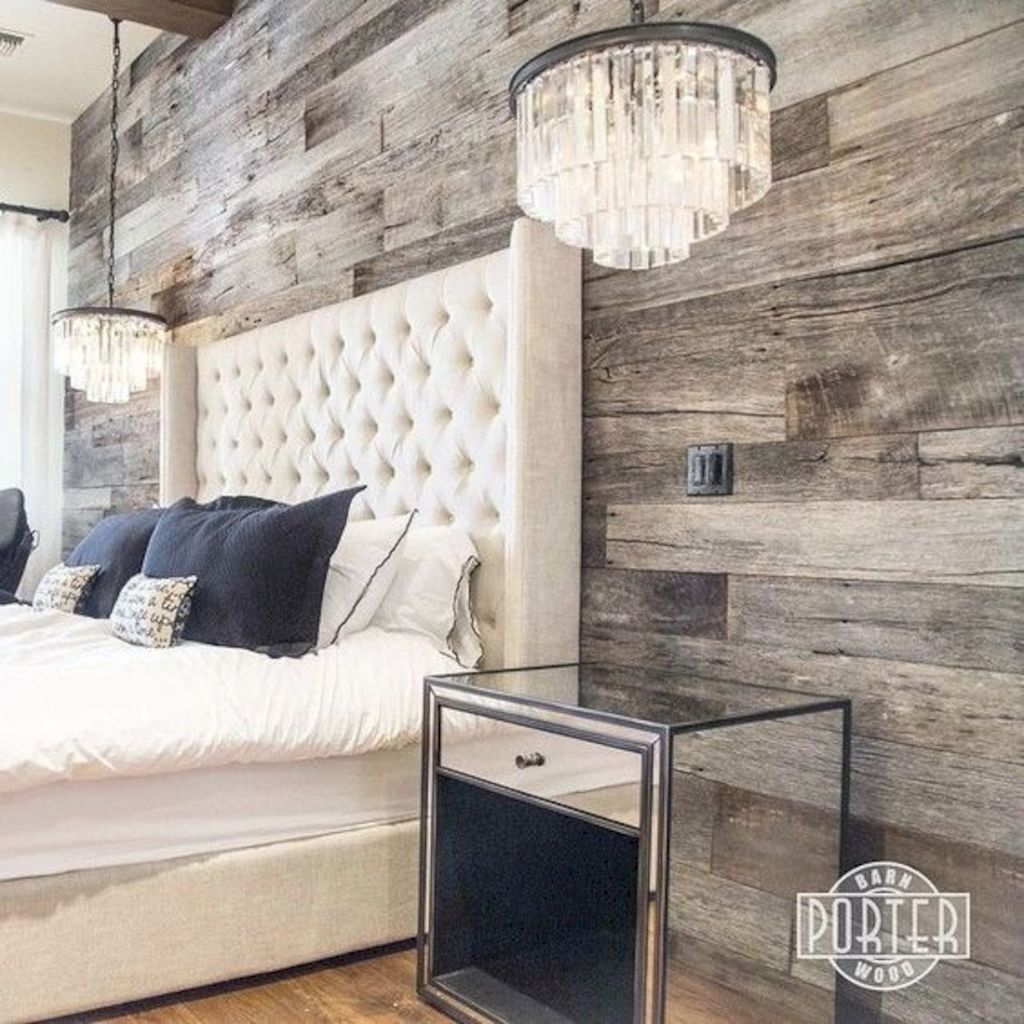 Smart interior upgrade showing wood pallets wall accent that looks amazing in a modern home which includes traditional and rustic element mixing Image 39