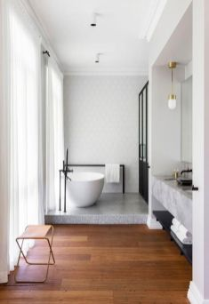 Terrazzo tiles used in bathroom renovation showing classical comeback that bring an artistic retro statement in your home Image 41