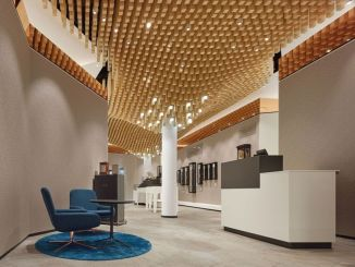 Amazing office interior ideas with unique and unconventional false ceiling designs Image 3